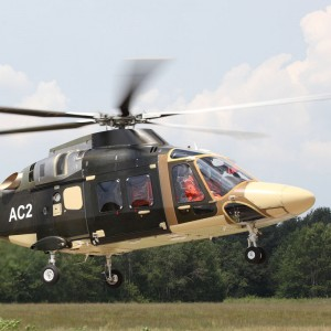 First flight of second AW169