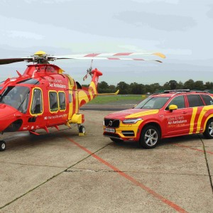 Essex & Herts Air Ambulance go 24×7 with a 4×4