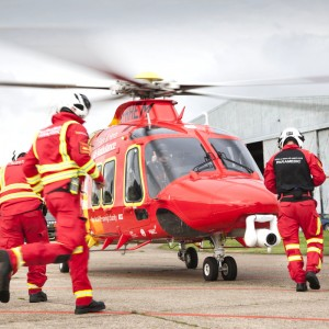 Essex & Herts Air Ambulance to carry blood supplies
