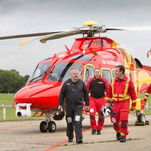 Busiest year ever for Essex & Herts Air Ambulance