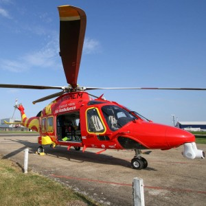 Essex & Herts Air Ambulance move in to new airbase