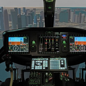 AW169 Flight Training Device Ready for Training