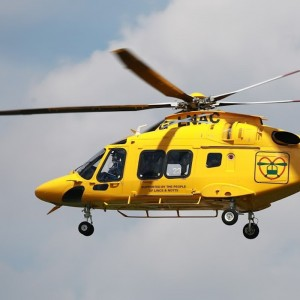 Lincolnshire & Nottinghamshire Air Ambulance AW169 arrives UK for completion