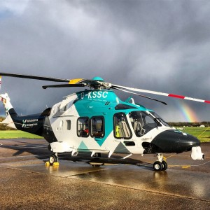 COVID-19 – Kent Surrey and Sussex Air Ambulance teams up with SECAmb