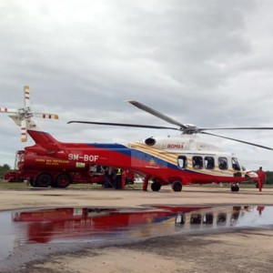 Malaysian Fire Dept starts AW189 operations
