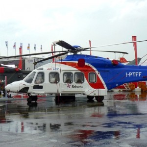 AW189 arrives in UK for SAR certification
