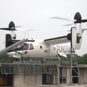 Third AW609 prototype starts ground runs