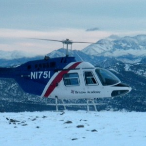 100th pilot completes Bristow Academy Mountain Flying course