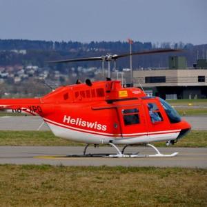 HeliSwiss buys JetRanger from Germany