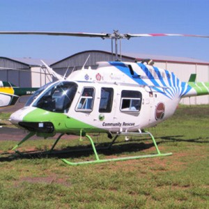 Queensland stops paramedics riding in single-engine helicopters