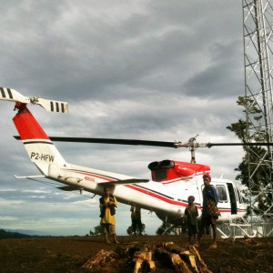Heliwest wins two year Bell 212 contract in Papua New Guinea