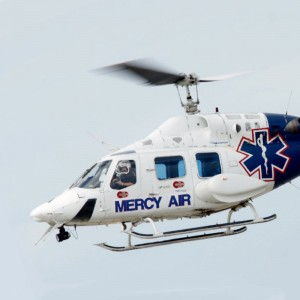 Mercy Air B222 now based in Hemet