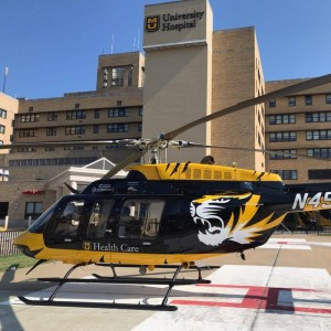 Air Evac Lifeteam 38 transitions into Univ Missouri program