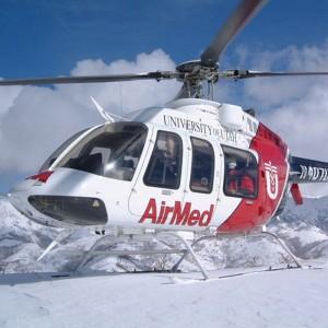 FBI investigates laser on AirMed helicopter in Salt Lake City