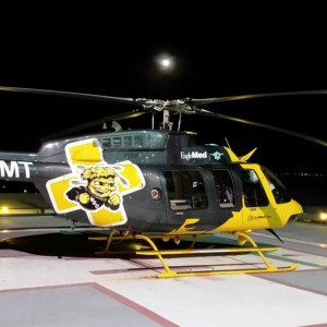 EagleMed to Fly Bell 407 in WSU Shocker Colors