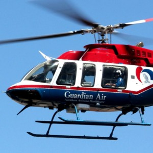 Flagstaff hospital's helicopter fills in for DPS