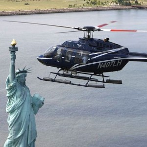 Helicopter New York City funds meals for Manhattan homeless