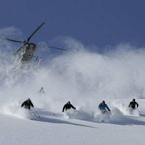 Heli-skiing plan divides Colorado neighbors