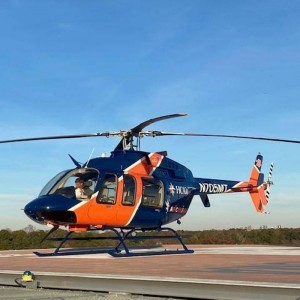 Med-Trans starts new Bell 407 EMS contract in Virginia