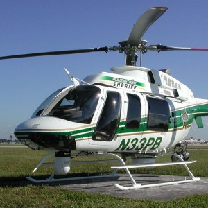 Palm Beach County Sheriff selects Becker Intercom for Bell 407GX