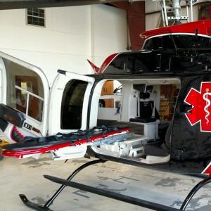 Spectrum Aeromed Equips Bell 407GXP