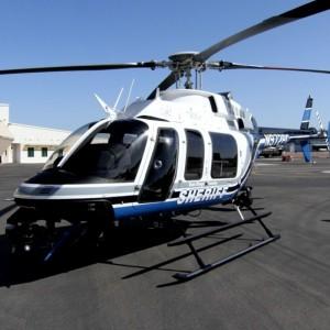 San Diego Sheriff unveils new Bell 407GX