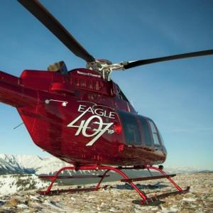 Eagle prepare 15th Bell 407HP Conversion