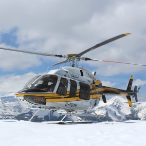 Eagle Copters delivers two 407HP back to Yellowhead after conversion
