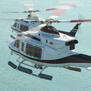 Starlite lease in two Bell 412s for Namibia contract