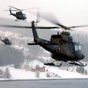 Royal Norwegian Air Force mark 100,000 hours with Bell 412 fleet
