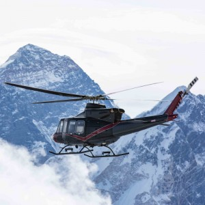 Bell demonstrates 412EPI to Nepalese Army