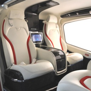 Mecaer interior for Bell 429 Makes Debut in Latin America