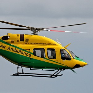 Bell Delivers First UK HEMS 429 at Helitech