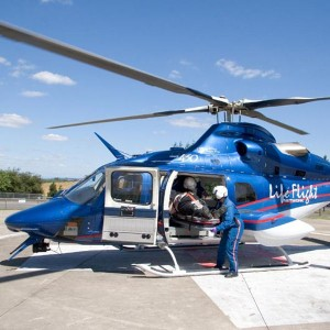 Two EMS helicopters grounded awaiting routine FAA inspection