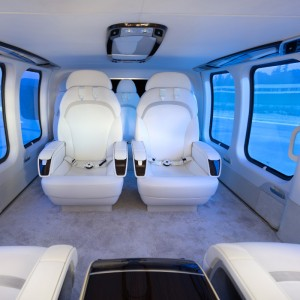 Bell 525 VIP interior proposed by Mecaer