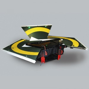 Foldaway self-levelling helipad ideal for superyacht operations