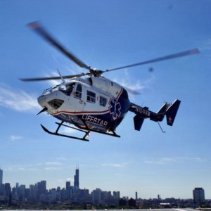 New partnership between Morris Fire Dept and LifeStar 1 Chicago