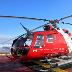 Canada donates surplus Coast Guard Bo105 to BCIT