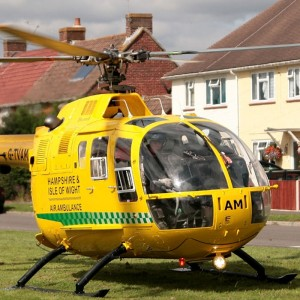 Hampshire and Isle of Wight Air Ambulance flies its 2,000th mission