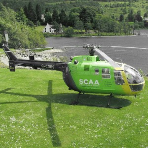 Scotland's Charity Air Ambulance flies 500th mission