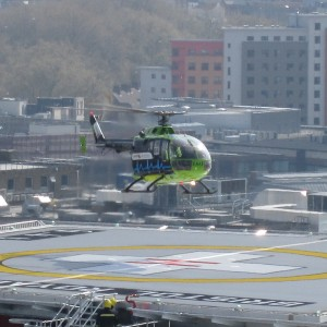 UK – Trial flight phase for Bristol Royal Infirmary helipad