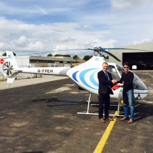 Elstree Helicopters takes delivery of 11th British Cabri