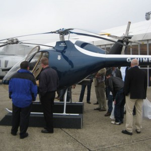 Cabri generates lots of interest at Helitech