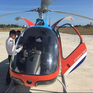 VNH help car launch using both Cabri and AW189