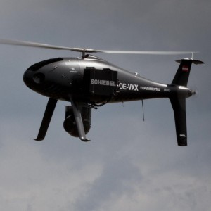 Schiebel flies Camcopter with broadcast-quality camera