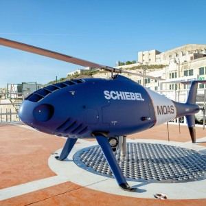 Schiebel Camcopter helps in rescue of refugees in Mediterranean again