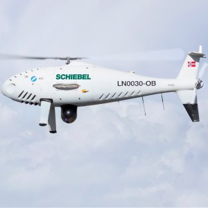 Schiebel demostrates comint and imaging payloads of S-100 Camcopter®