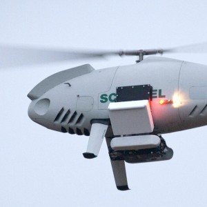 Selex ES Sage ESM system makes first flight on Schiebel Camcopter