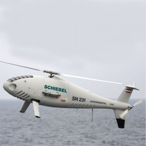 Schiebel Camcopter S-100 Helps to Save Refugees In The Mediterranean Sea