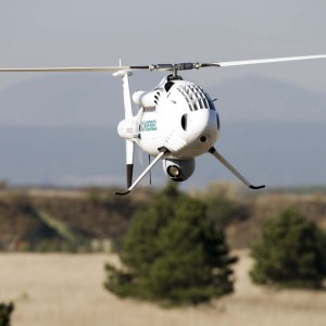 Maiden flight of Camcopter S-100 with heavy fuel engine